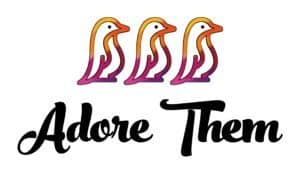 Adore Them Colored Logo