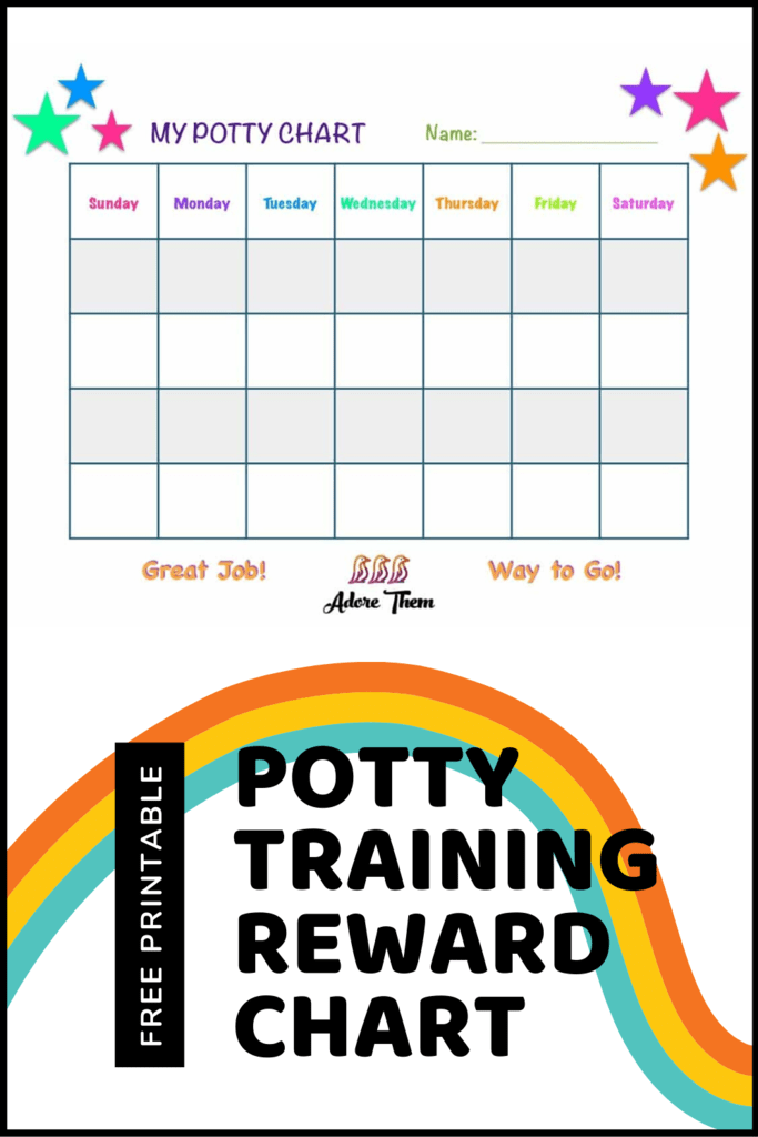 potty training reward chart