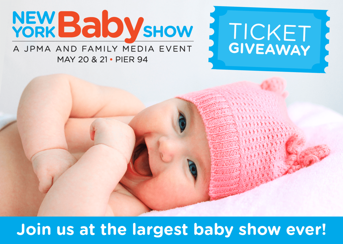 New York Baby Show Free Tickets