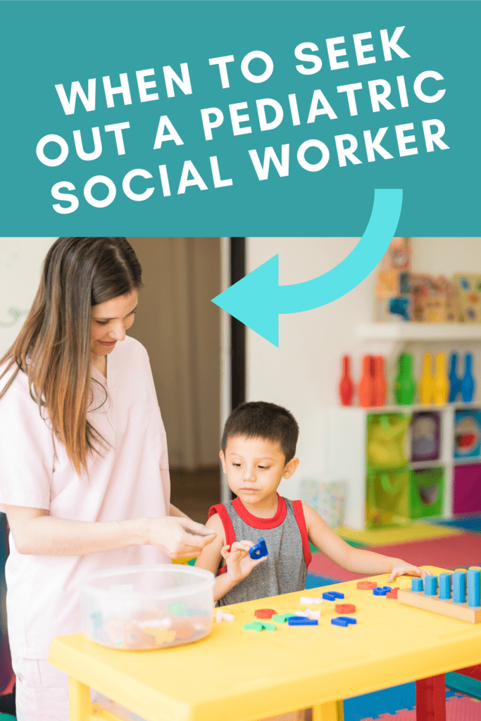 When to seek out a pediatric social worker