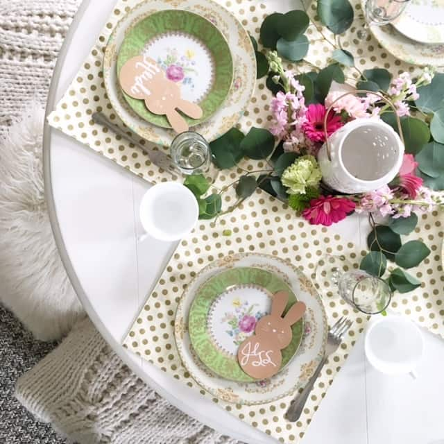 Springtime Entertaining and Easter Tablescapes