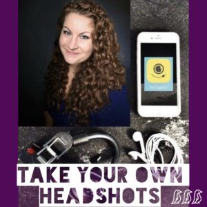 take your own headshots