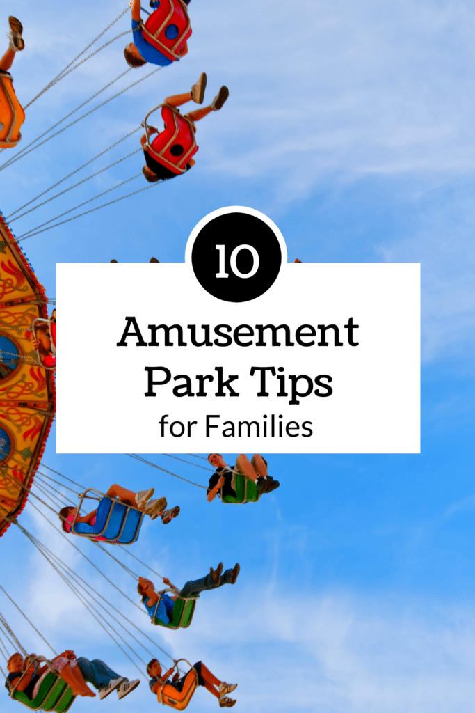 amusement park tips for families