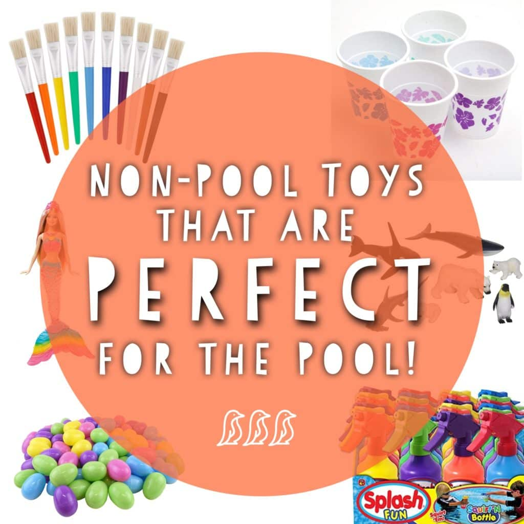 Non-Pool Toys that are Perfect for the Pool