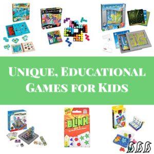 Unique, Educational Games for Kids