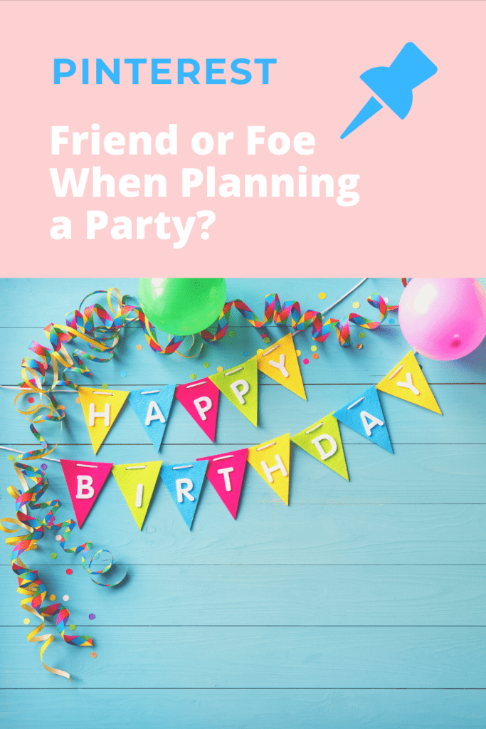 pinterest for party planning