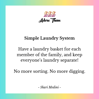 simple laundry system