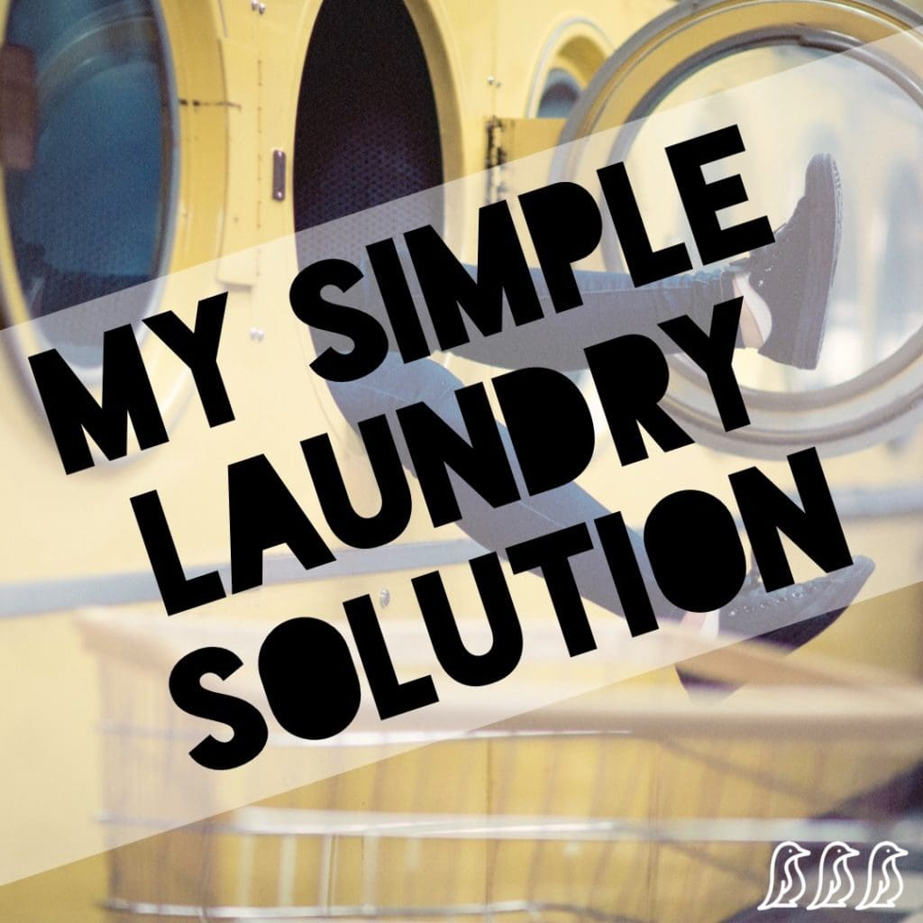 My Simple Laundry Solution