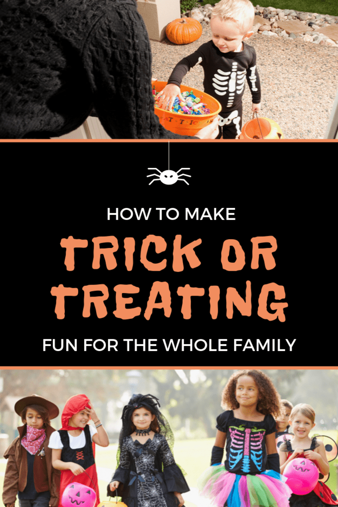 how to make trick or treating fun for the whole family