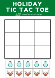 photograph relating to Tic Tac Toe Printable named Family vacation Tic Tac Toe Printable - Like Them