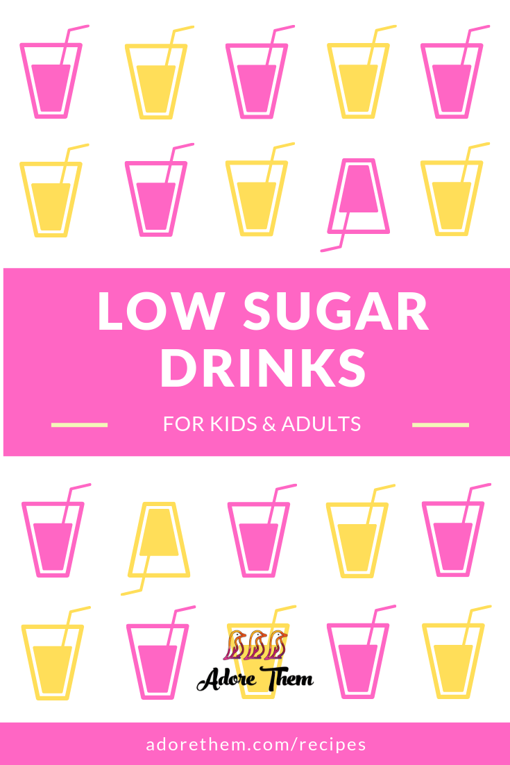 low sugar drinks