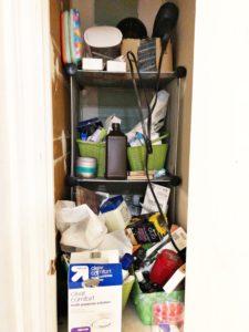 organize medicine closet