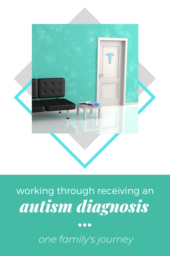 receiving an autism diagnosis