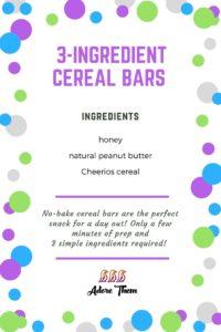 cereal bar recipe