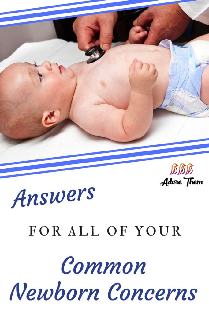 common newborn concerns