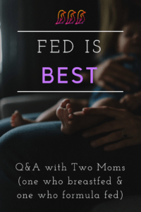 Breastfeeding versus Formula Feeding