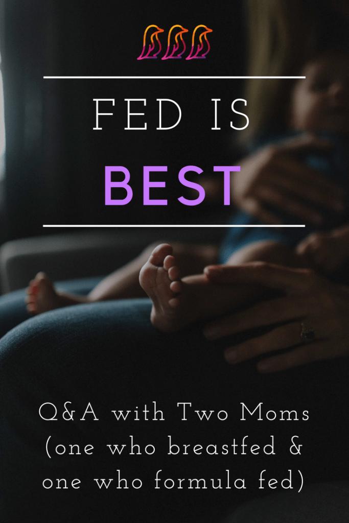 Breastfeeding versus Formula Feeding