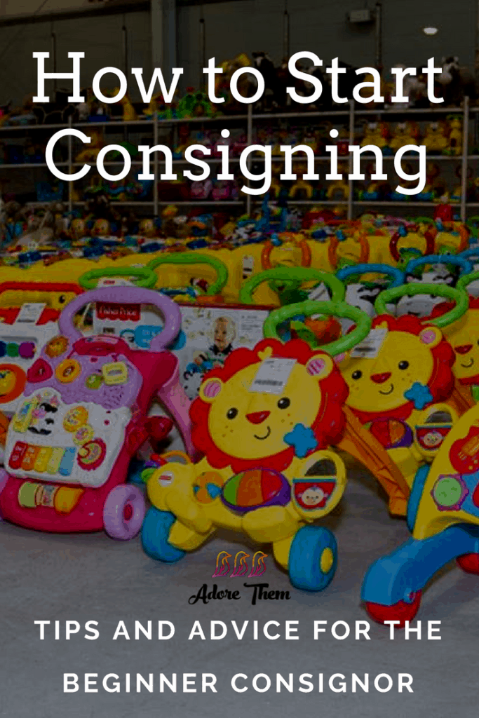 How do I start consigning?