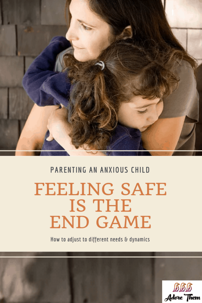 Feeling Safe is the End Game