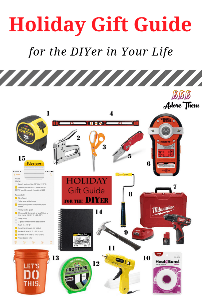 holiday gift guide for the DIYer