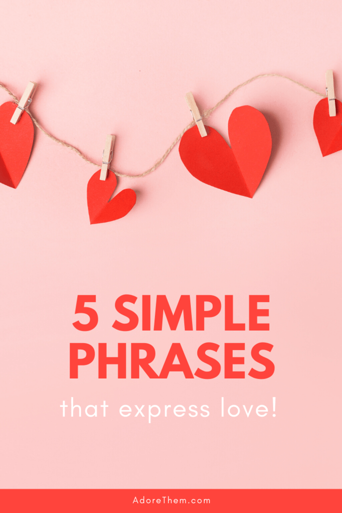 phrases that express love