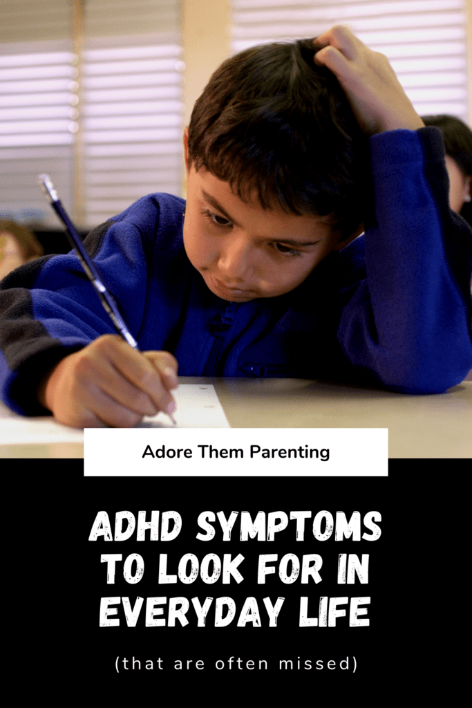 ADHD Symptoms to look for in everyday life
