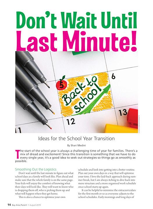 Bay Area Parent Magazine 2