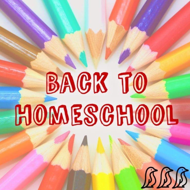 back to school - homeschooling