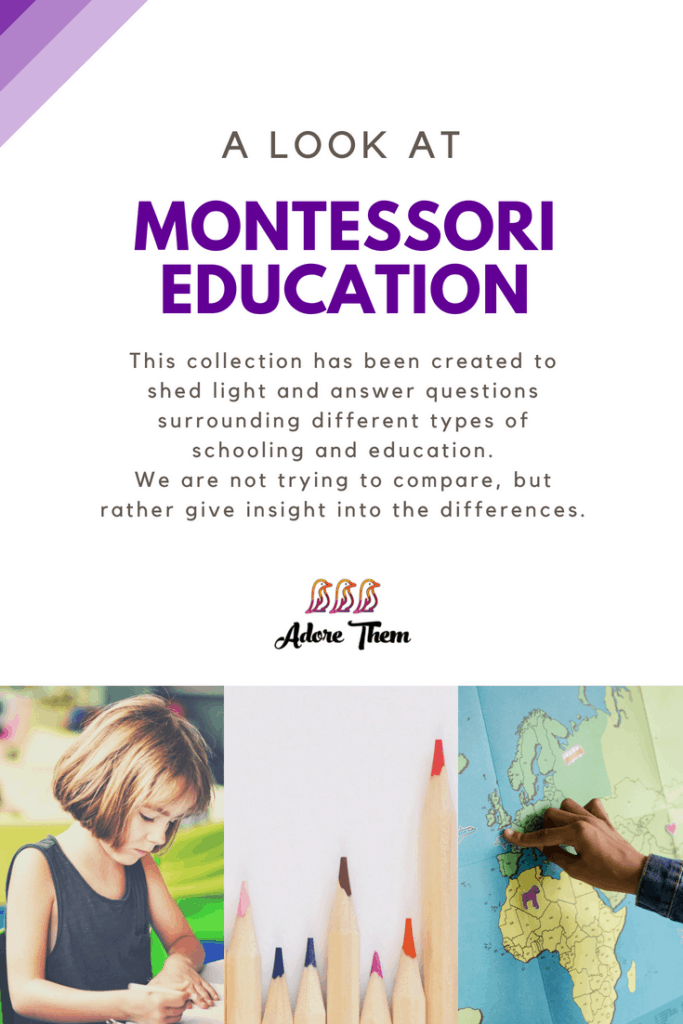 child education - montessori
