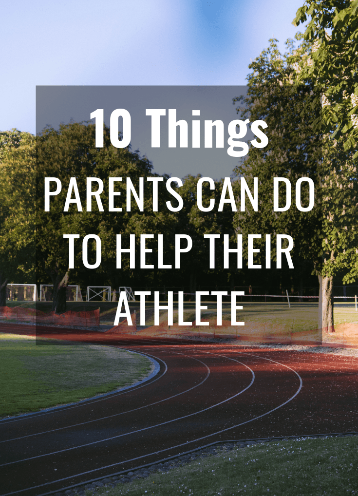 kids sports - parental support