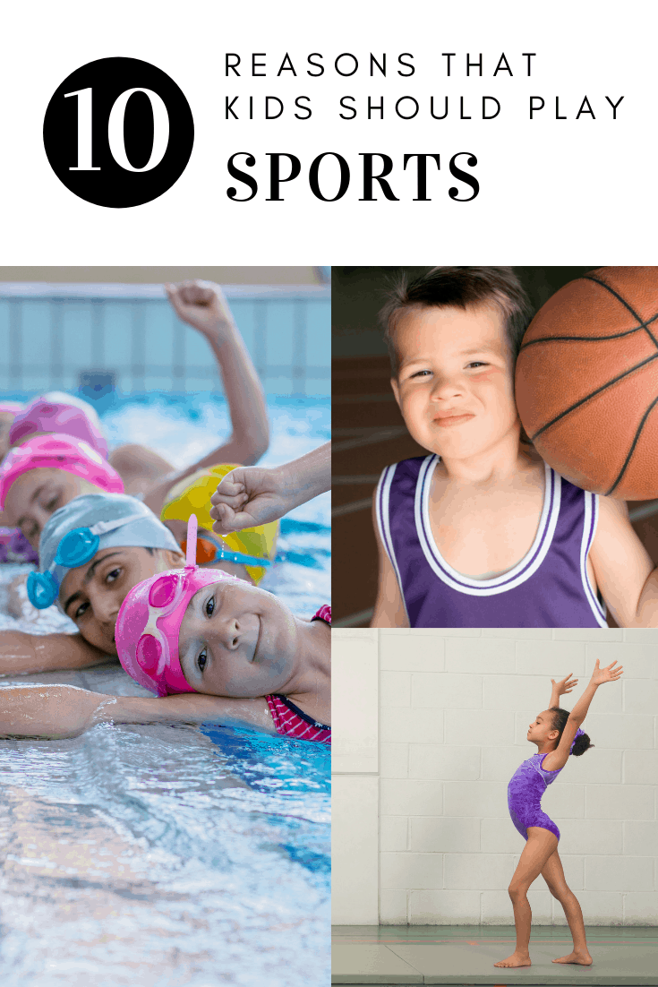 kids sports - reasons kids should play sports