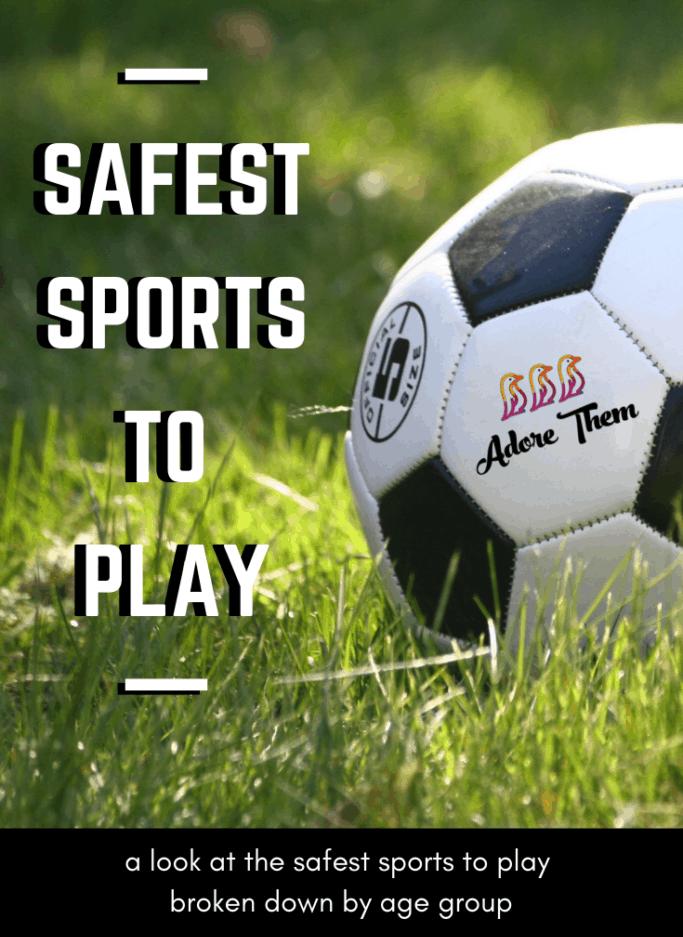 kids sports - safest sports