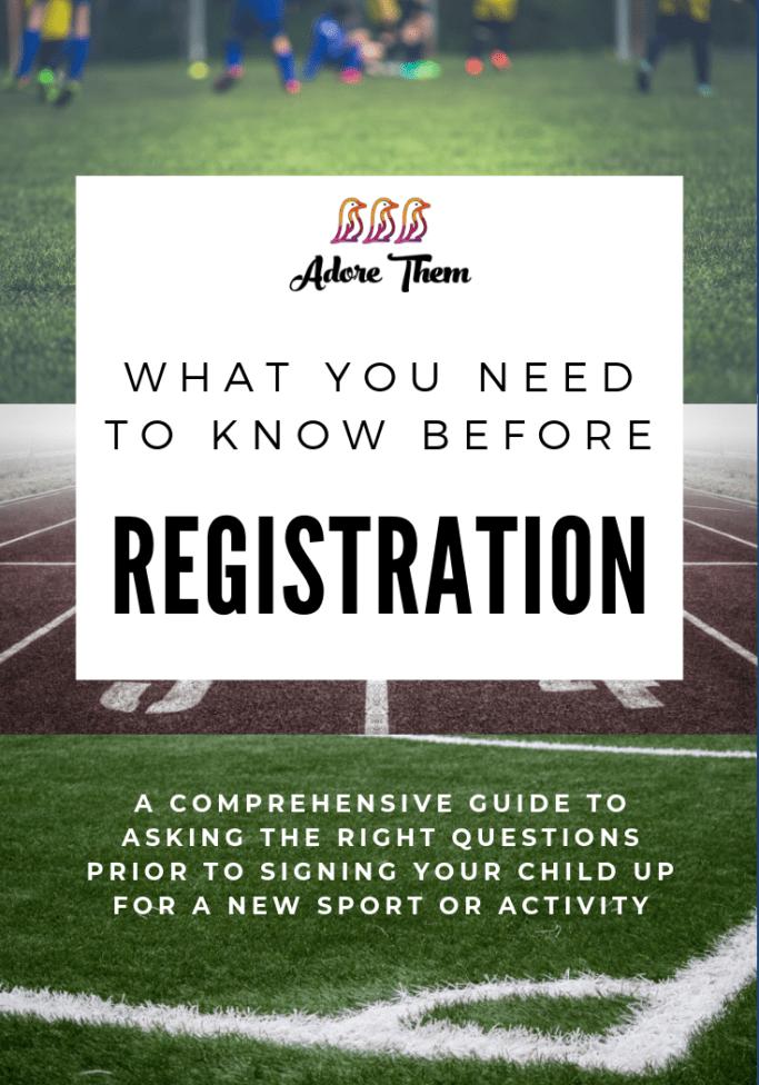 kids sports - sports registration