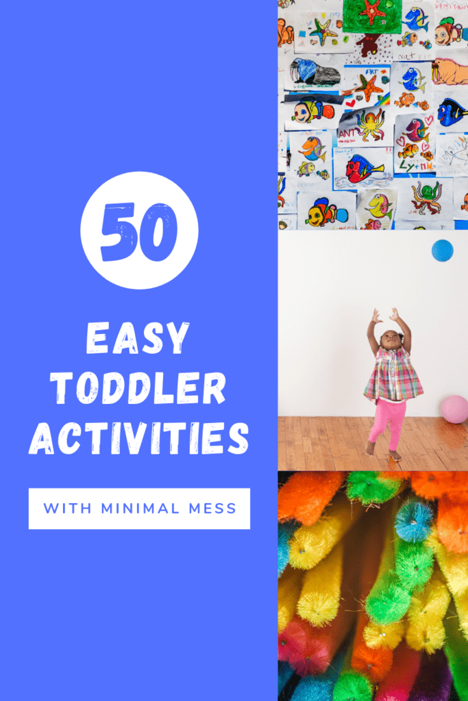 50 easy toddler activities