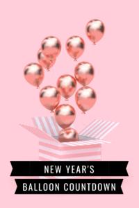 New Year's Balloon Countdown