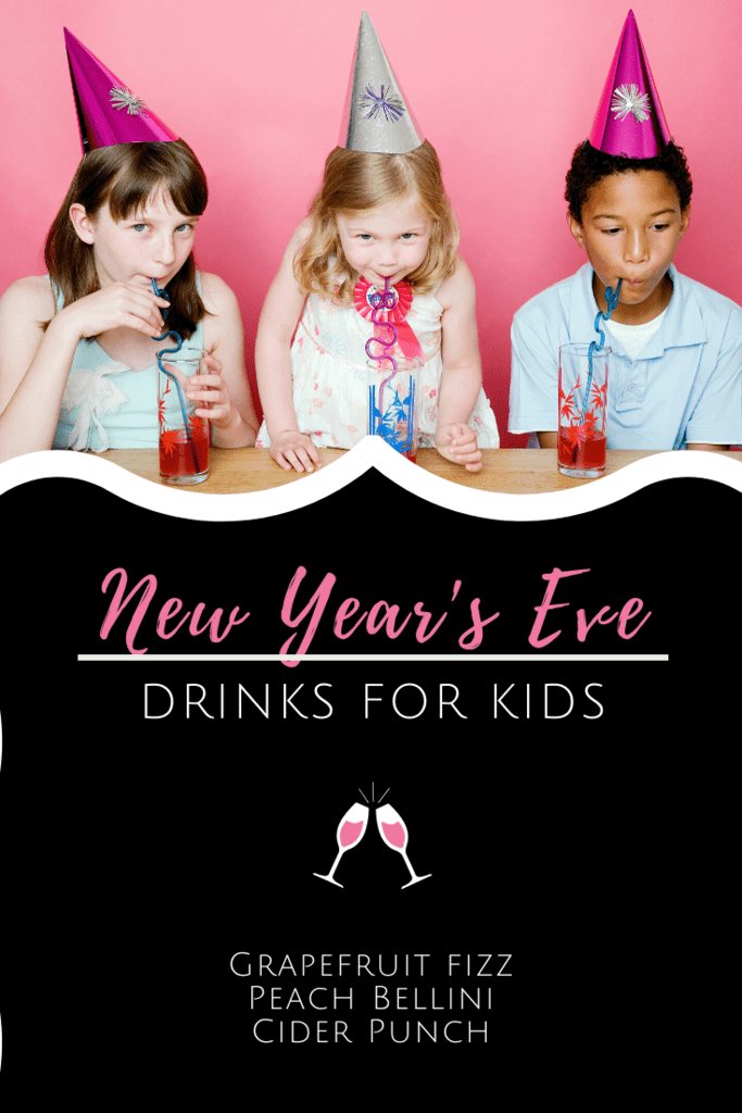New Year's Eve Drinks for Kids