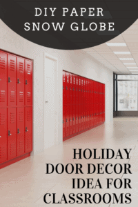 holiday door decorating idea for classrooms