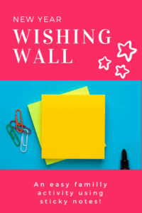 new year wishing wall