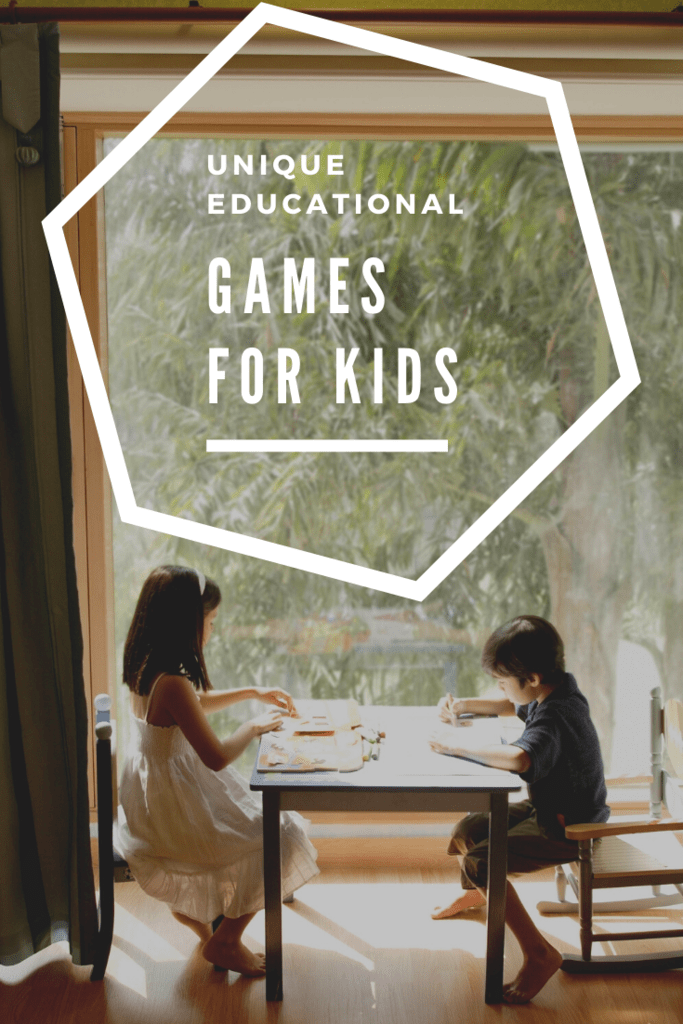 unique educational games for kids