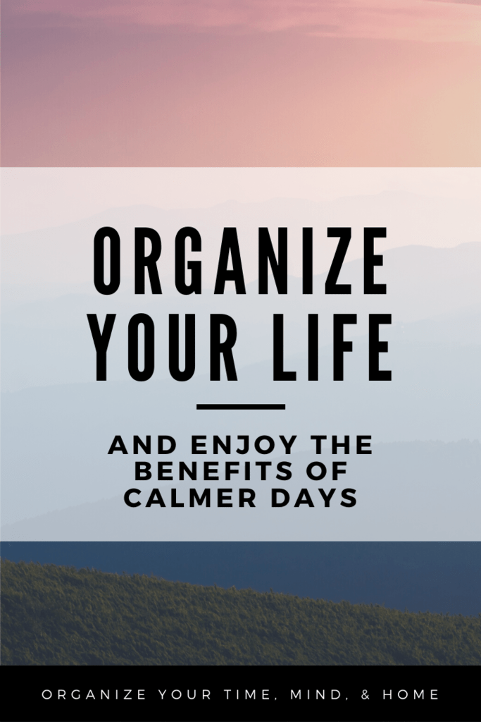 benefits of calmer days