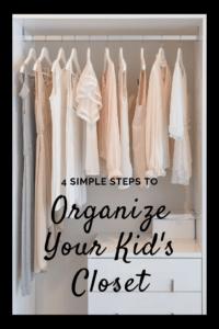 organize your kid