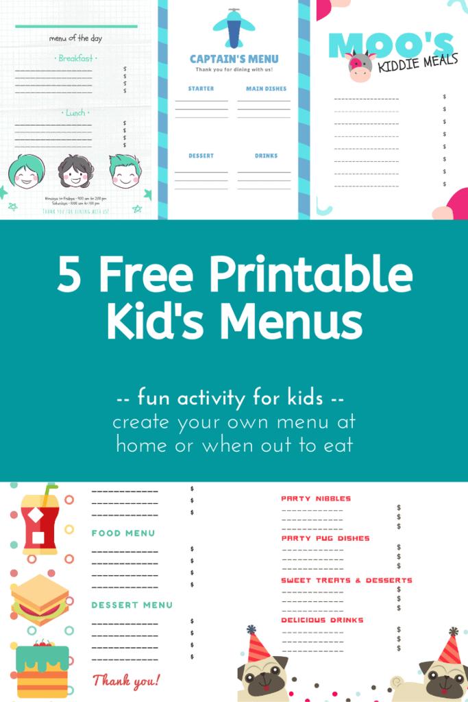 Free Printable Kid