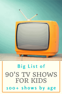 90s tv shows for kids