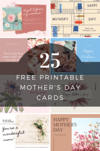 Free Printable Mother