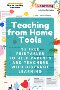 Teaching from Home Printables