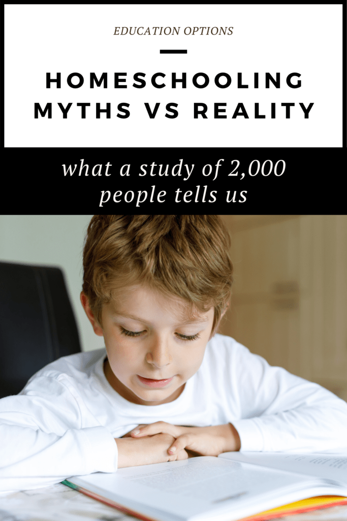 homeschooling myths