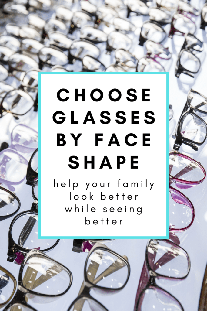 Choose glasses by face shape