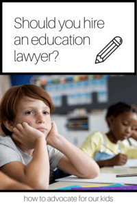 Should you hire an education lawyer