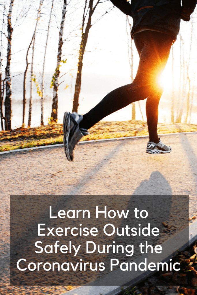 how to Exercise Outside Safely During the Coronavirus Pandemic
