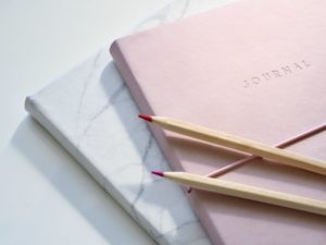picture of a pink journal